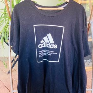Oversized Adidas T-Shirt / Dress